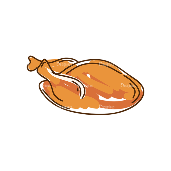 Thanksgiving Vector Set 8 Vector Chicken 10 1