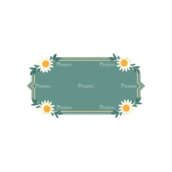 Vintage Vector Labels With Flowers Vector Labels 01 1