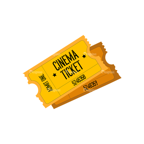 Cinema Cinema Ticket Preview 1