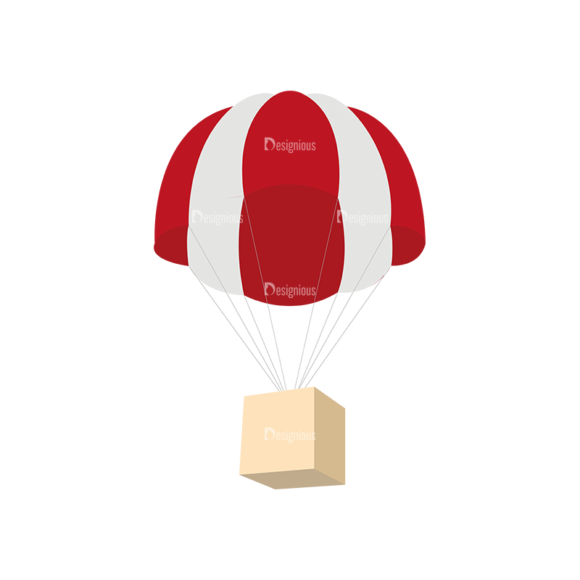 Mail Delivery Parachute 1