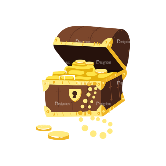Pirate Set Treasure Chest Preview 1