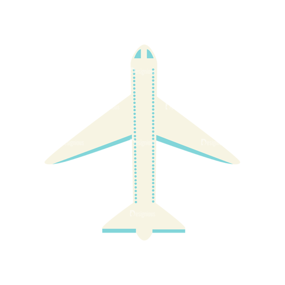 Airport Icons Vector Set 1 Vector Airplane 23 1
