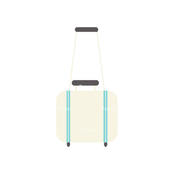 Airport Icons Vector Set 1 Vector Laguage Bag 22 1