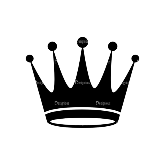Flat Crown Icons Set 2 Vector Crown 05 1