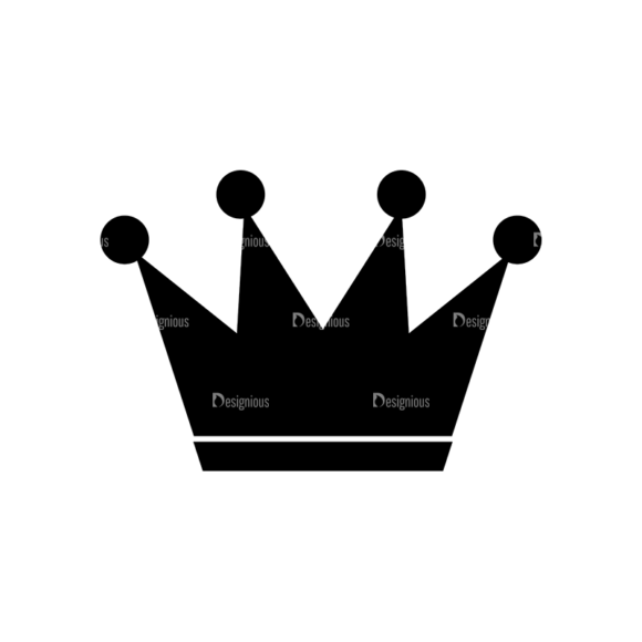 Flat Crown Icons Set 2 Vector Crown 06 1