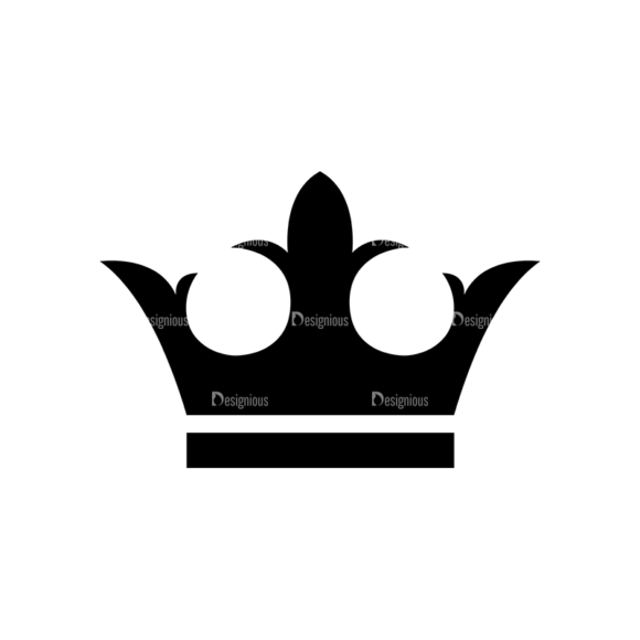 Flat Crown Icons Set 2 Vector Crown 11 1