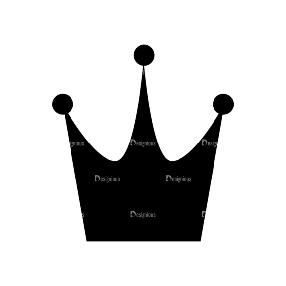 Flat Crown Icons Set 2 Vector Crown 13 1