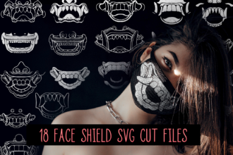 18 Face Masks Vector Pack