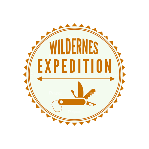 Outdoor Adventure Badges Vector Set 1 Vector Badges 06 1