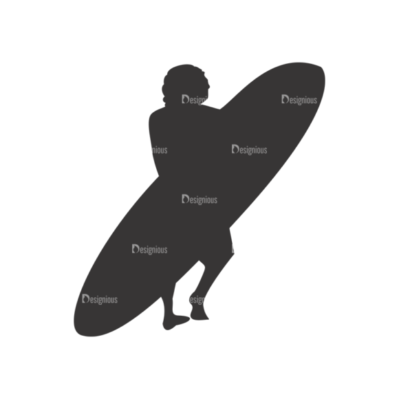 Surfer Silhouettes Pack 1 8 Preview 1