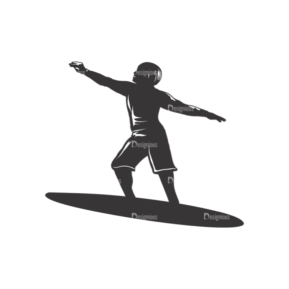 Surfer Silhouettes Pack 2 8 Preview 1