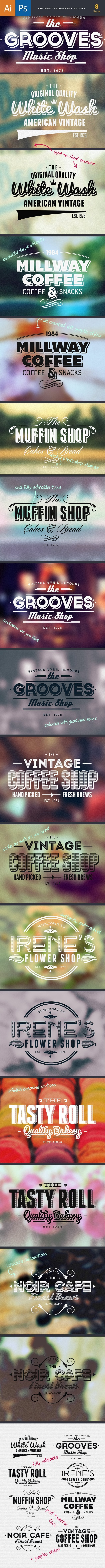 TypeZilla 3: The Super Premium Vintage Typography Set 22