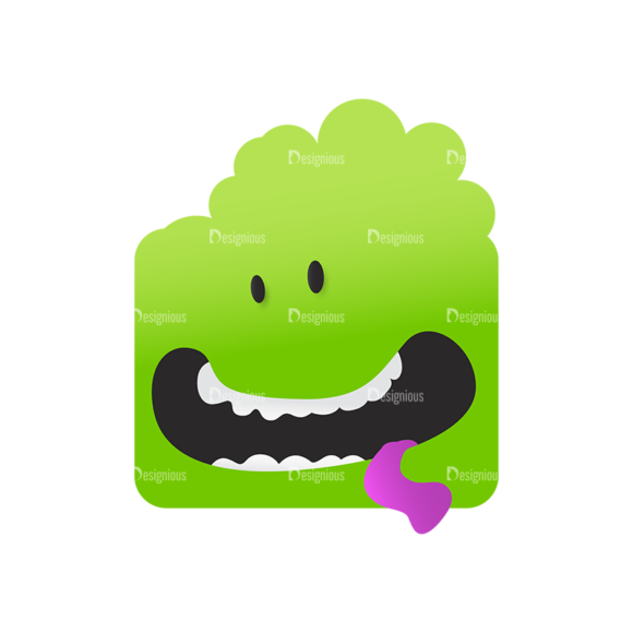 Cute Monsters Monster Svg & Png Clipart 1