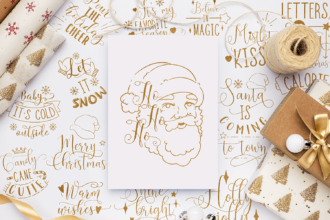 50x Christmas Quotes With Decorations