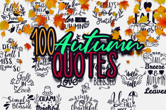 100x Quotes for Autumn 1