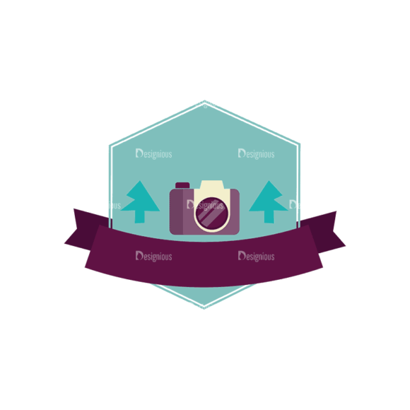 Travel Badges Camera Svg & Png Clipart 1