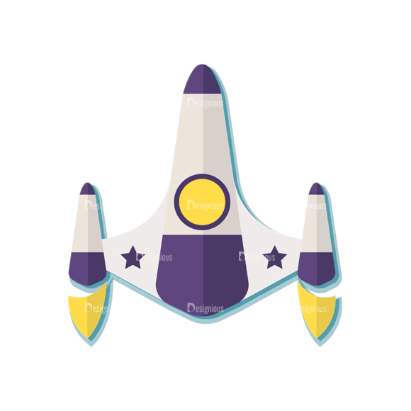 Space Exploration Set Space Shuttle 01 Svg & Png Clipart 1