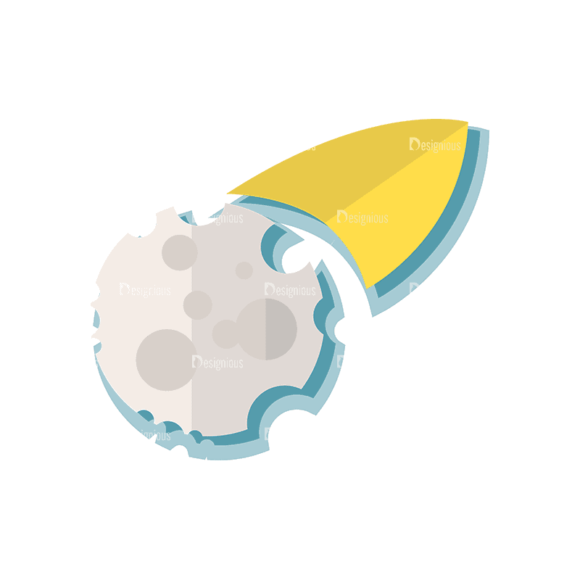 Space Exploration Set Space Shuttle 04 Svg & Png Clipart 1