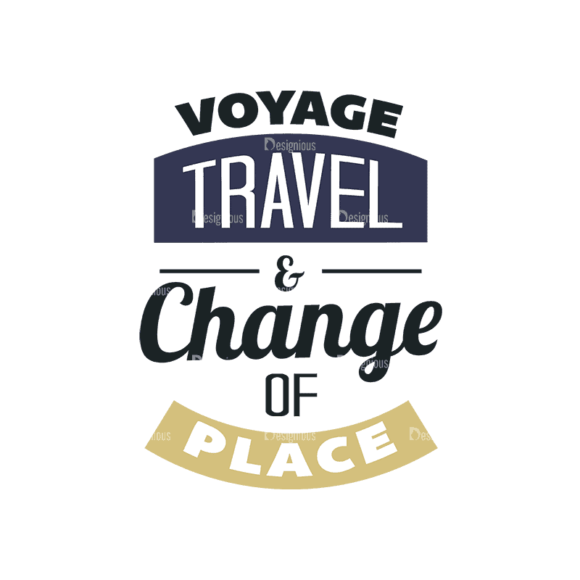 Travel Typographic Elements 2 Travel 03 Svg & Png Clipart 1