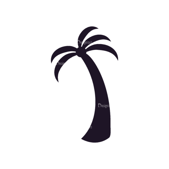 Travel Stamps Set 2 Coconut Tree Svg & Png Clipart 1
